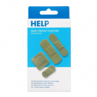 HELP Washproof Plasters Assorted - Pack 20